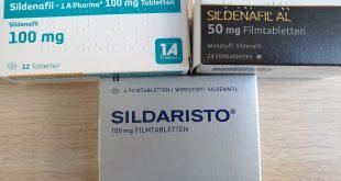 Potenzmittel: Sildenafil Generika von Viagra
